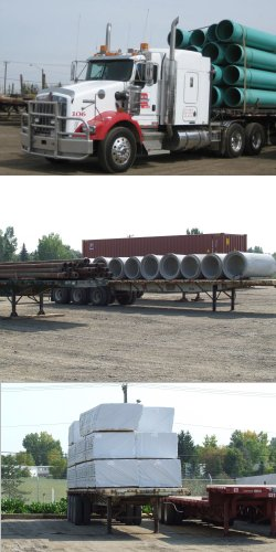 Specializing In Oilfield And Flatdeck Hauling For Alberta B C Saskatchewan Yukon And The Territories